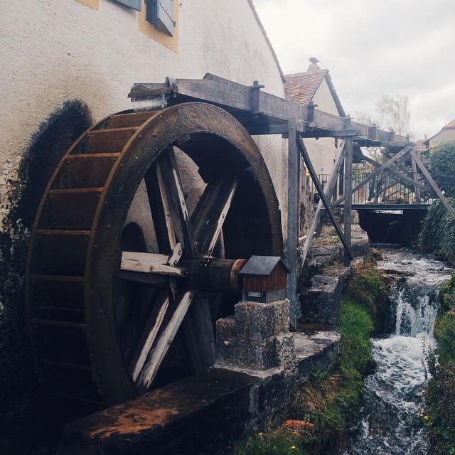 Roue à eau, Saint-Blaise