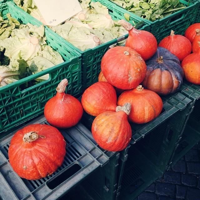 L'automne au marché