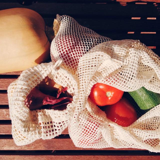Mes jolis filets à légumes en coton