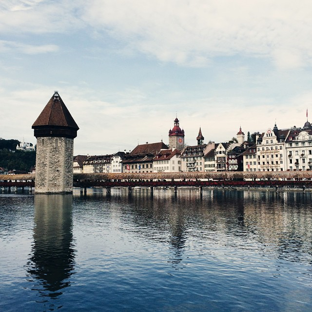 Lucerne –Kapellbrücke