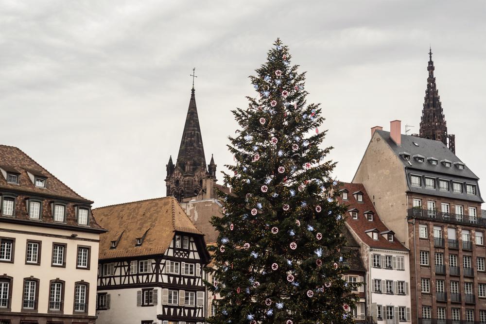 Le plus grand sapin de Noël d'Europe – Strasbourg, Alsace