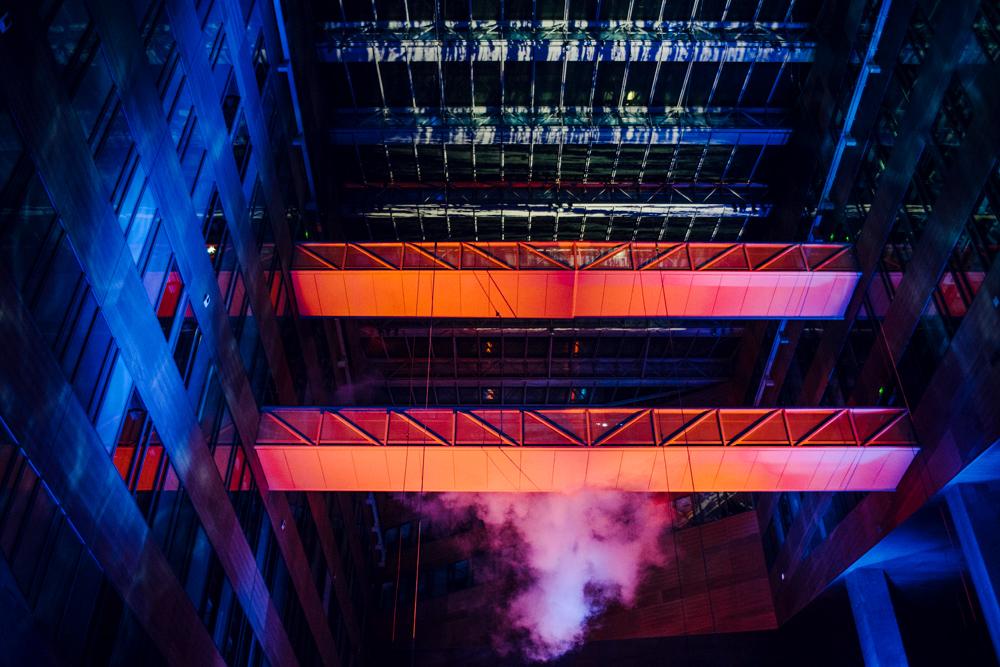 Fête des Lumières 2014 –Cathédrale d'eau et de lumière