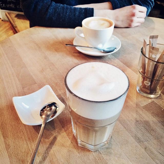 Pause café en bonne compagnie