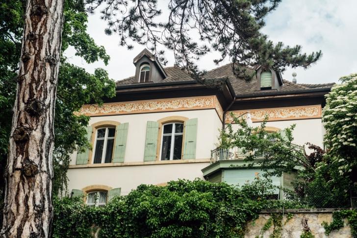 Neuchâtel –Rue du Vieux Châtel