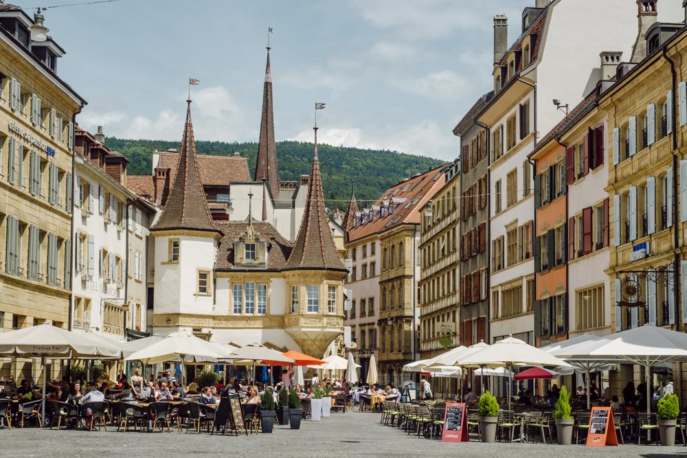 Neuchâtel – Place des Halles
