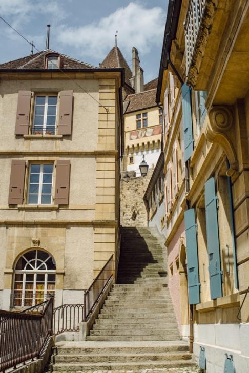 Neuchâtel – Escaliers du Chateau