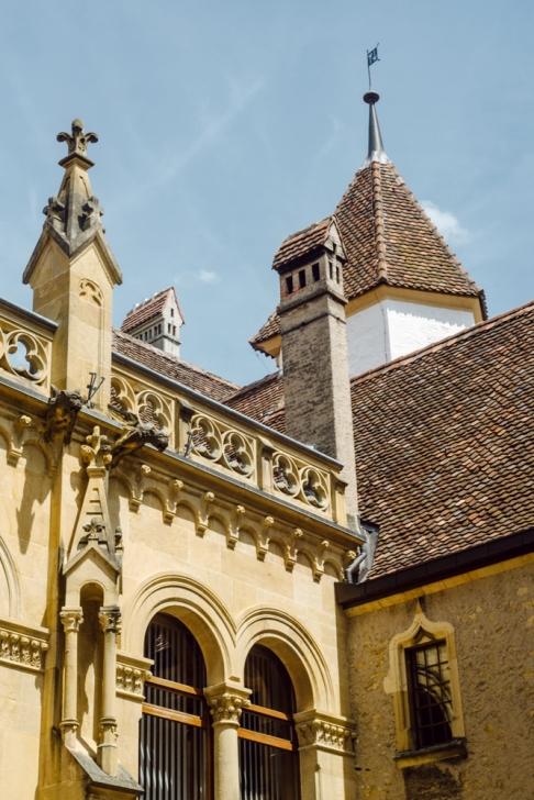 Neuchâtel –Le Chateau et la Collégiale