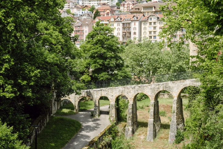 Neuchâtel – Pont d'accès au chateau
