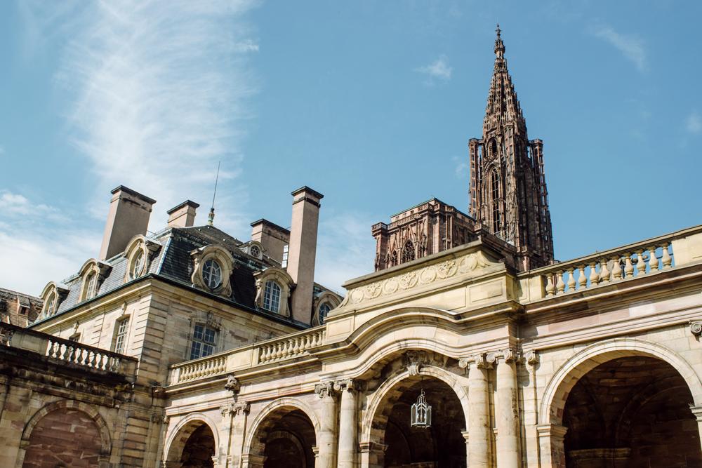 Strasbourg – Cathédrale Notre-Dame et Palais Rohan