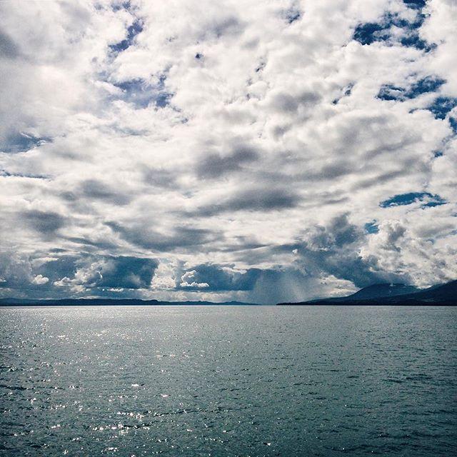 Le bord du lac, à nouveau…