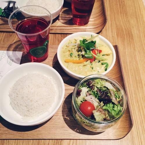 Curry de légumes chez Nusu, Bienne