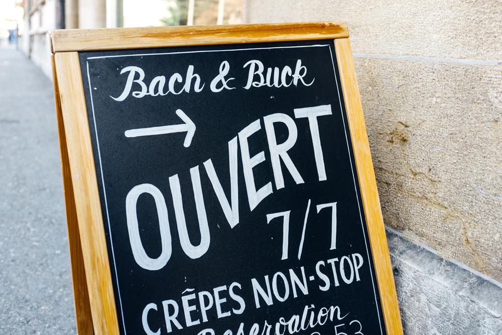 Crêperie Bach & Buck, Neuchâtel