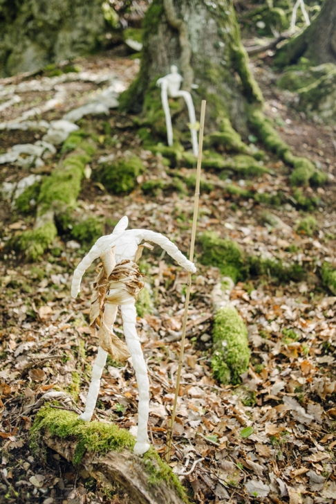 Jardin botanique de Neuchâtel, Land Art 2016 – Le cycle (Yves Chédel, Ruben Pensa, Dominique Huguenin)