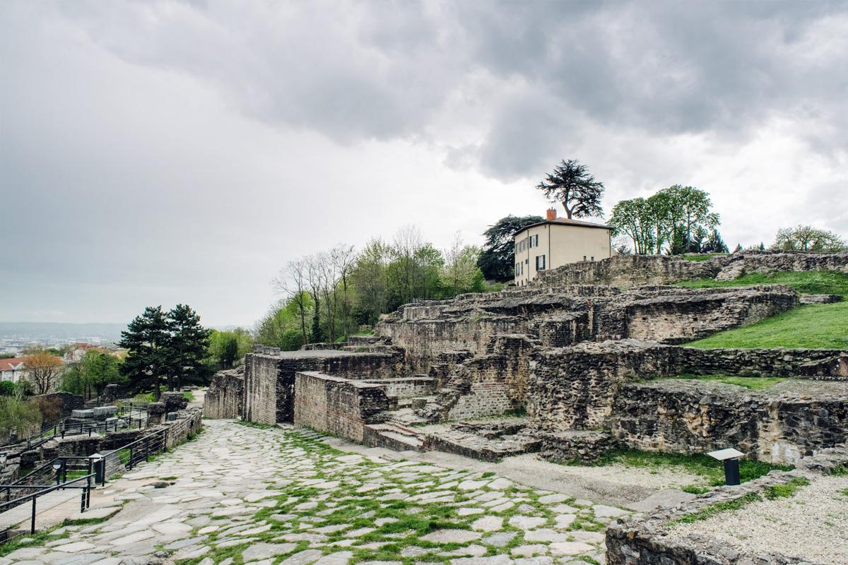 Lyon – Théâtre antique romain de Fourvière