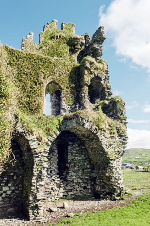 Ballycarbery Castle – Cahersiveen, Ring of Kerry