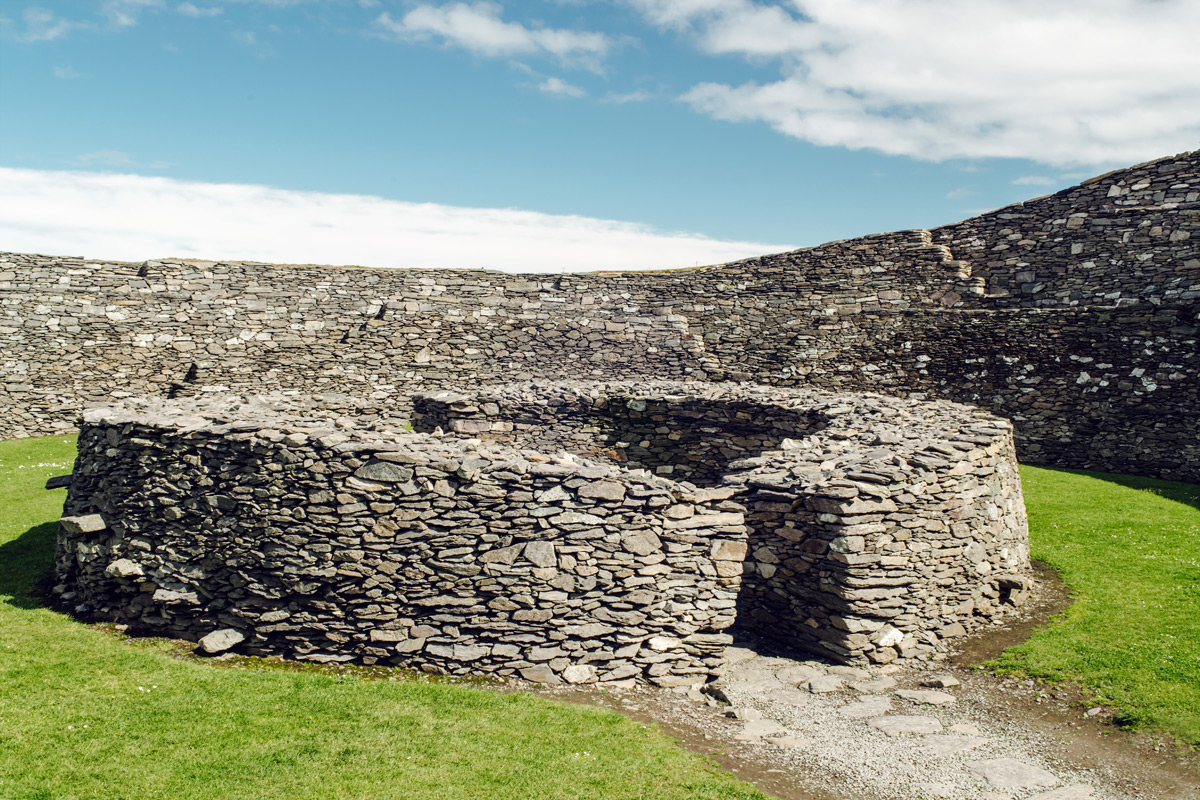 Cahergall Stone Fort – Cahersiveen, Ring of Kerry