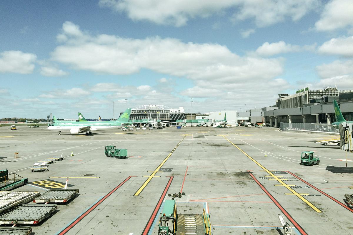 Road trip en Irlande – Aéroport de Dublin