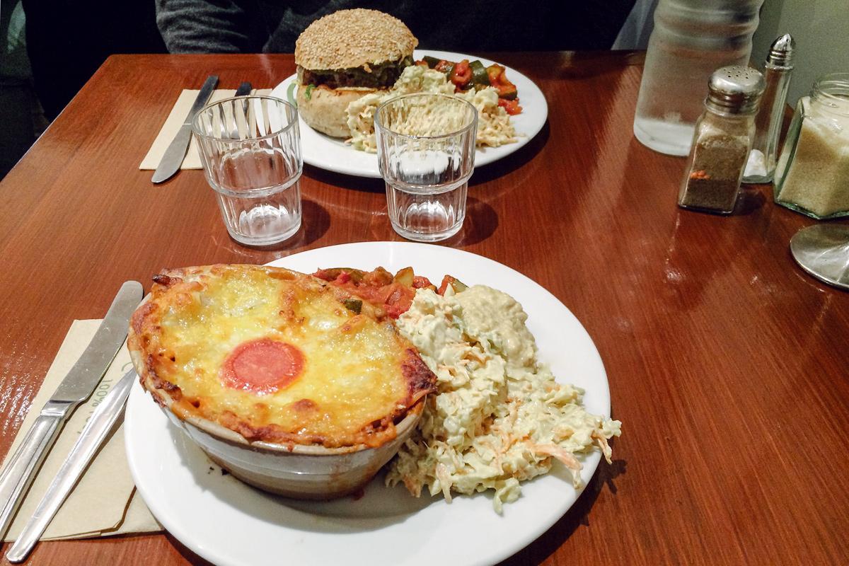 Road trip en Irlande – Quay Co-op Vegetarian Restaurant, Cork