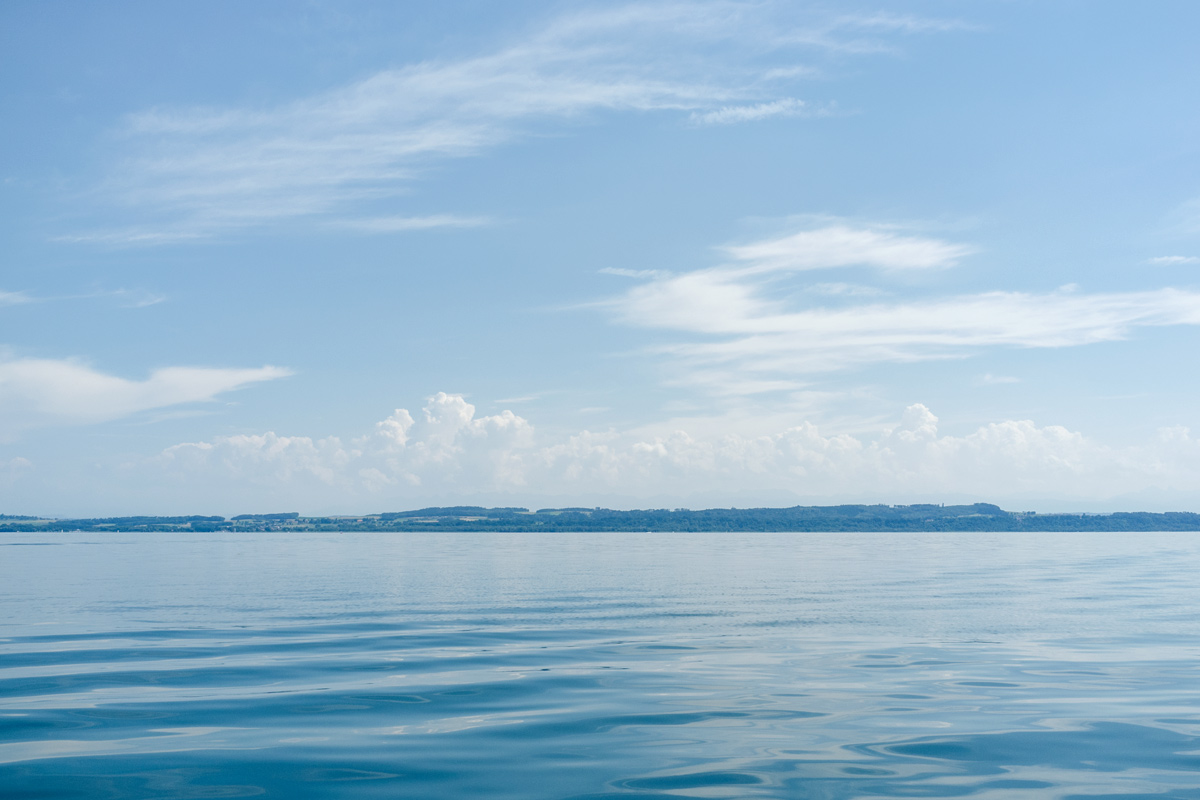 Sortie en bateau sur le lac de Neuchâtel