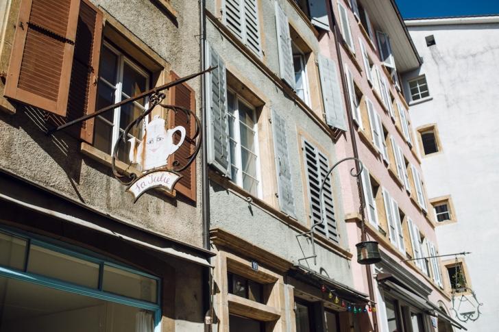 Bienne, déambulations dans la vieille ville