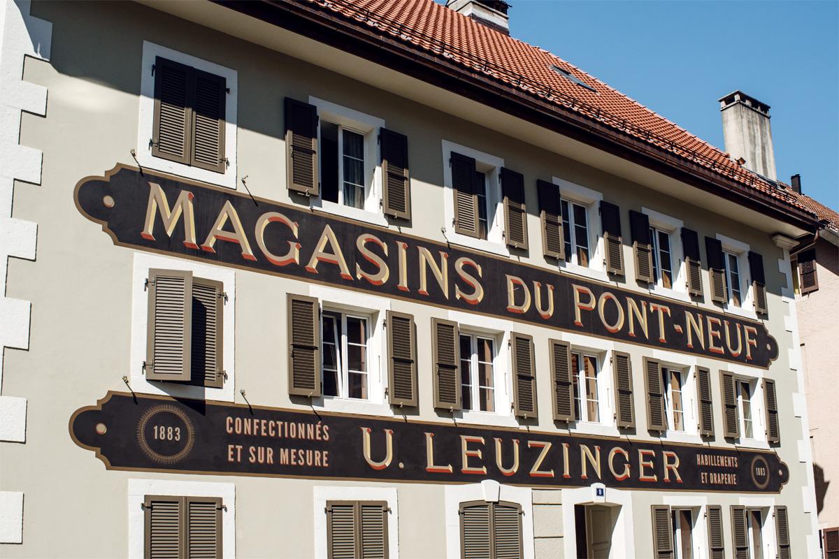 La Chaux-de-Fonds –Magasins du Pont-Neuf