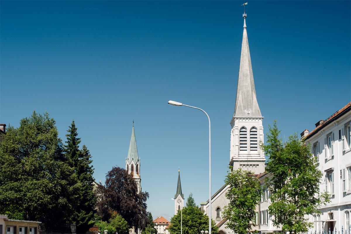 La Chaux-de-Fonds –Rue du Temple Allemand