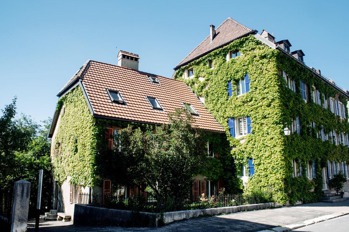 La Chaux-de-Fonds – Maison couverte de lière
