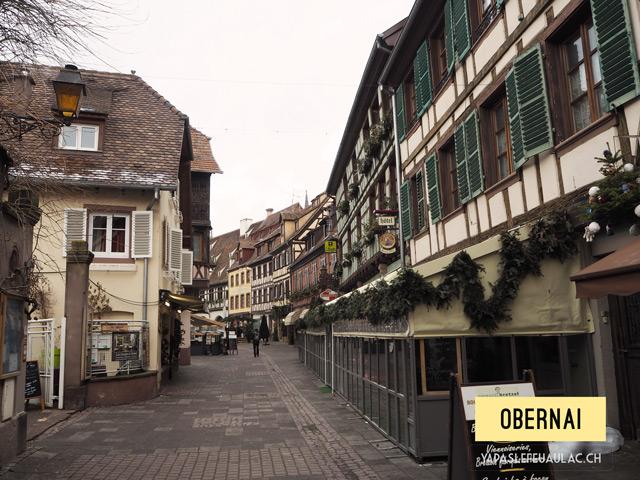 Les plus beaux villages alsaciens, Obernai – Y'a pas le feu au lac