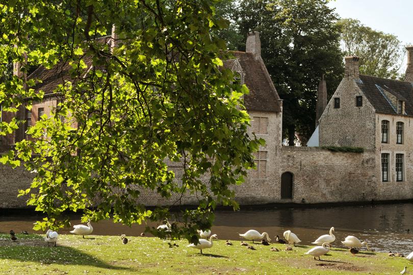 Bruges, le Béguinage