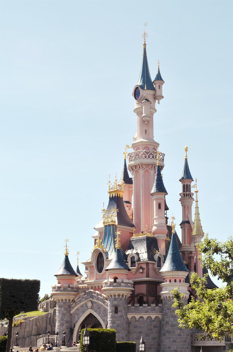 Disneyland Paris, le château