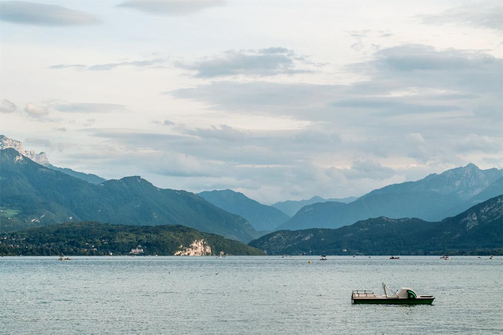 Rives du lac d'Annecy