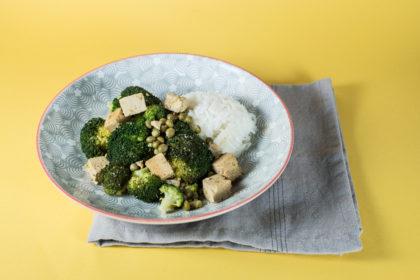 Tofu poêlé et brocoli 2