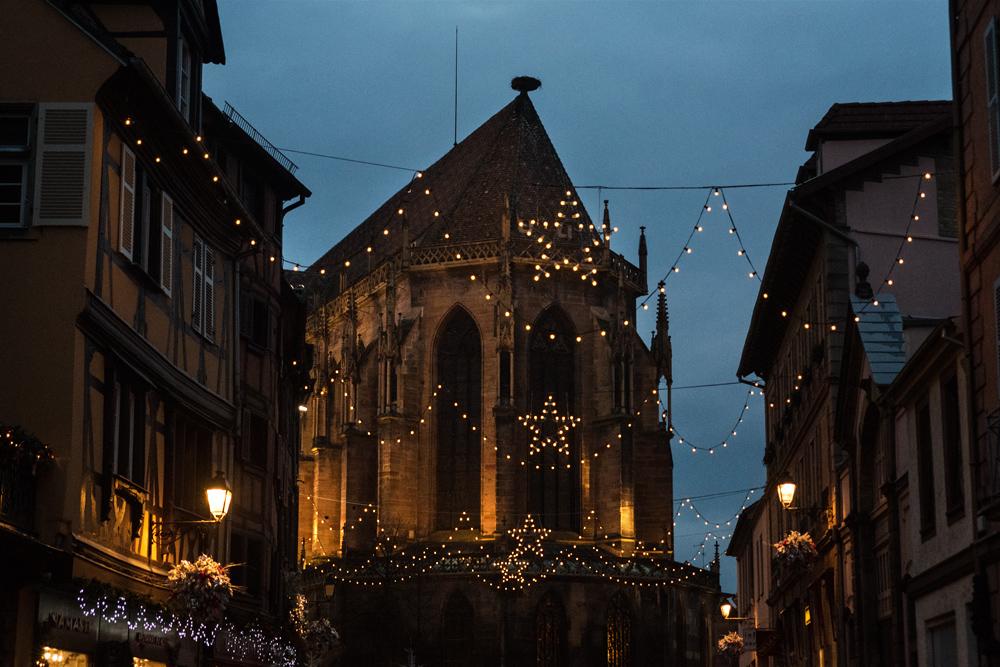 Décorations de Noël à Colmar