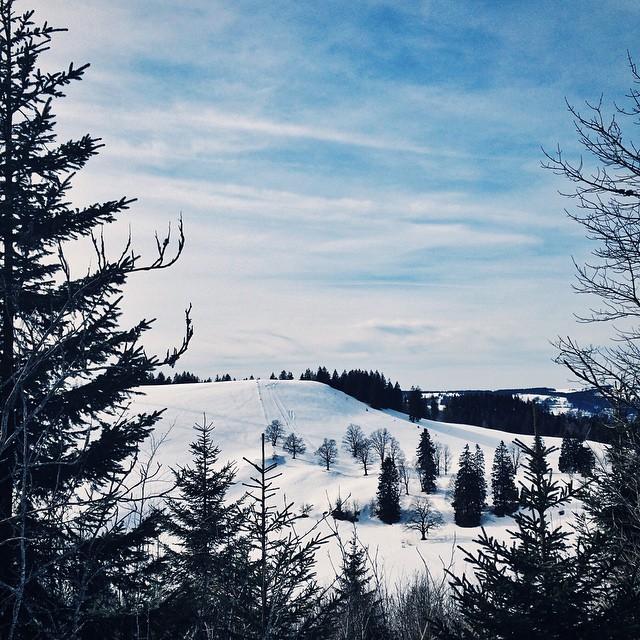 Une belle balade en raquette dans le Jura Neuchâtelois
