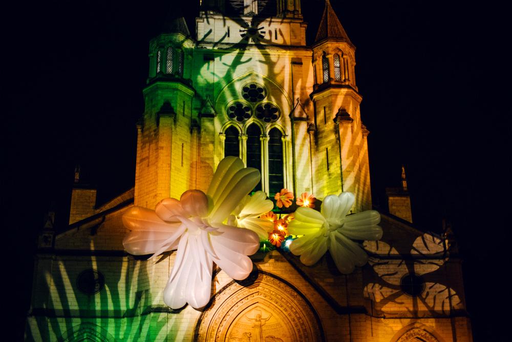Fête des Lumières 2014 – Wall Flower