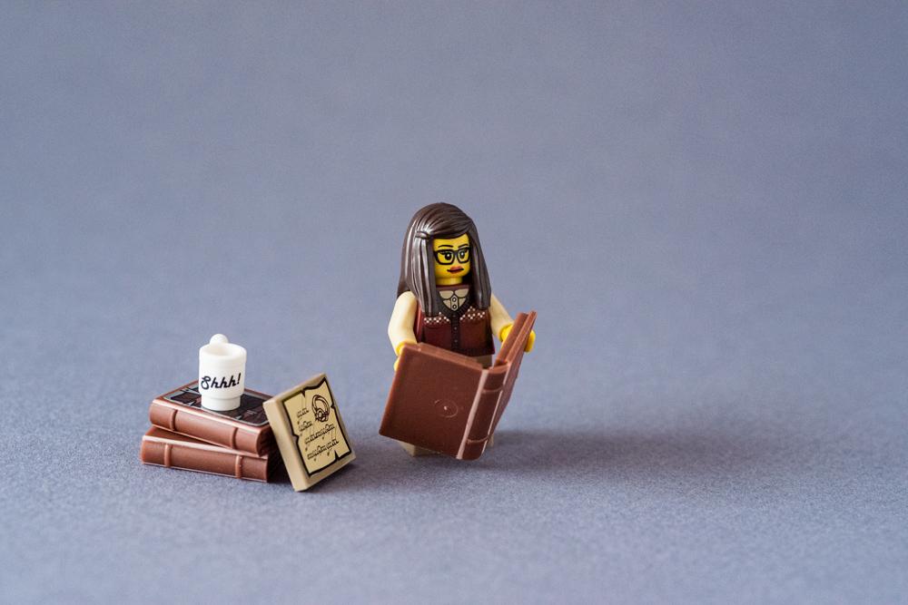 Bibliothécaire Lego
