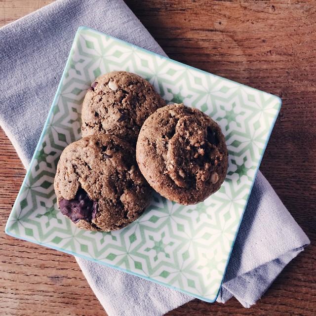 Les délicieux petits cookies végétaliens