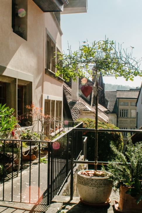 Fribourg – Escaliers du Collège