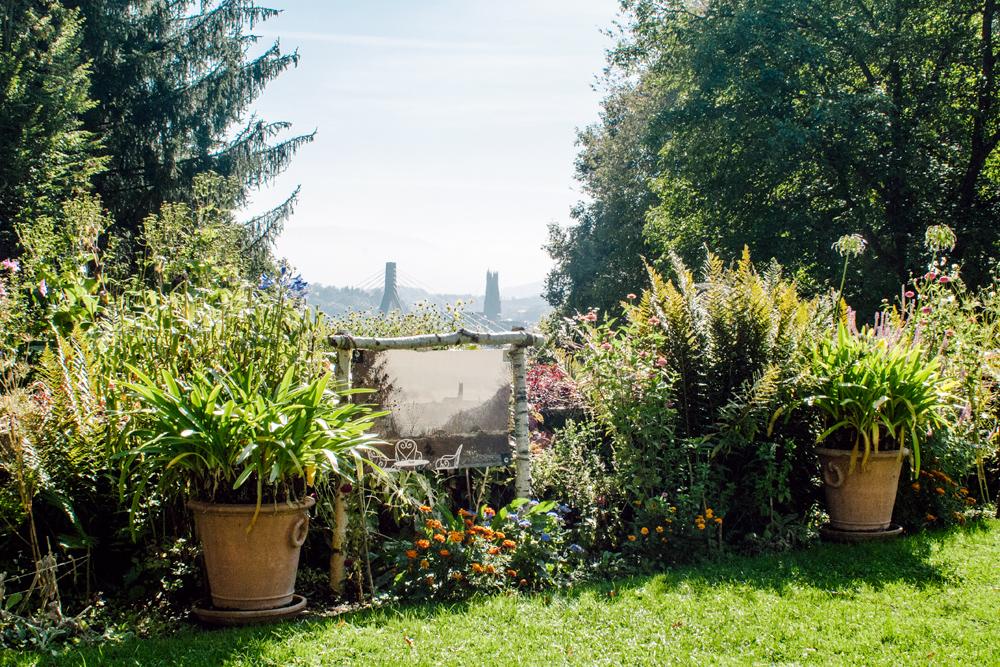 Fribourg – Jardin de l'Auberge aux 4 Vents