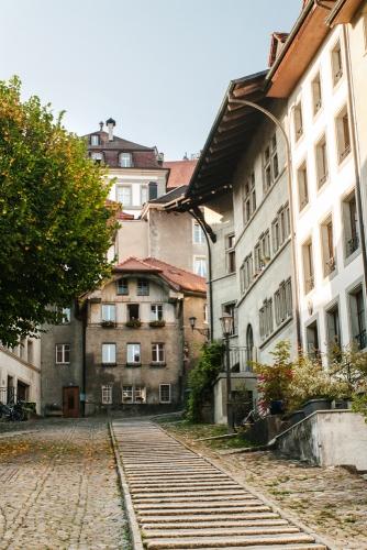 Fribourg – Escaliers du Court Chemin