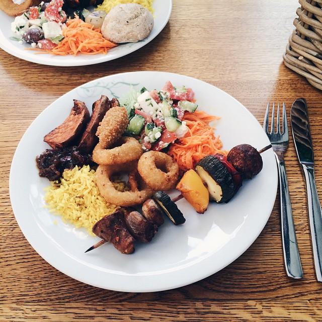 Le délicieux buffet végétarien de Tibits