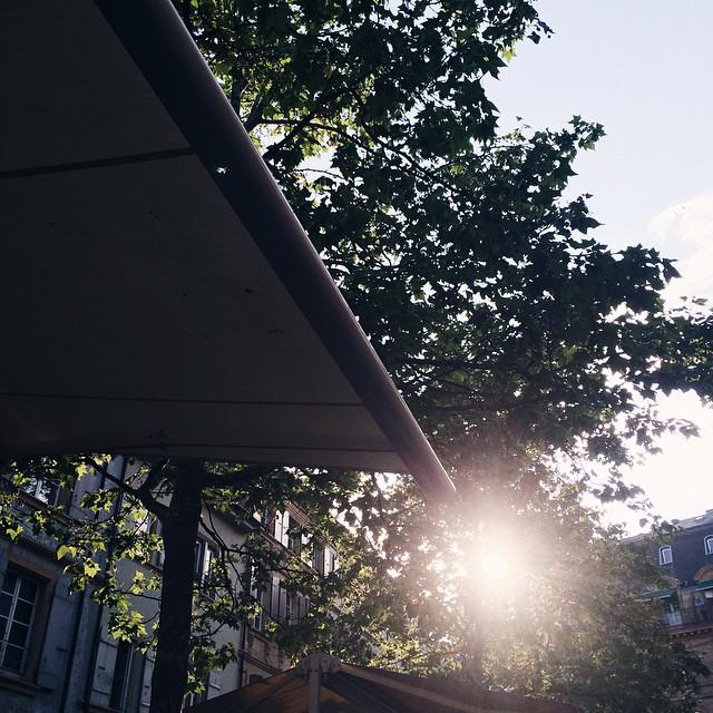 Les fins de journée en terrasse