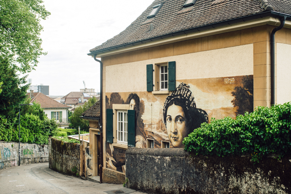 Neuchâtel –Ruelle Vaucher