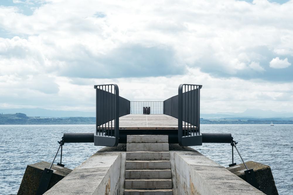 """Neuchâtel – Passerelle """"Un accès aux utopies"""""""