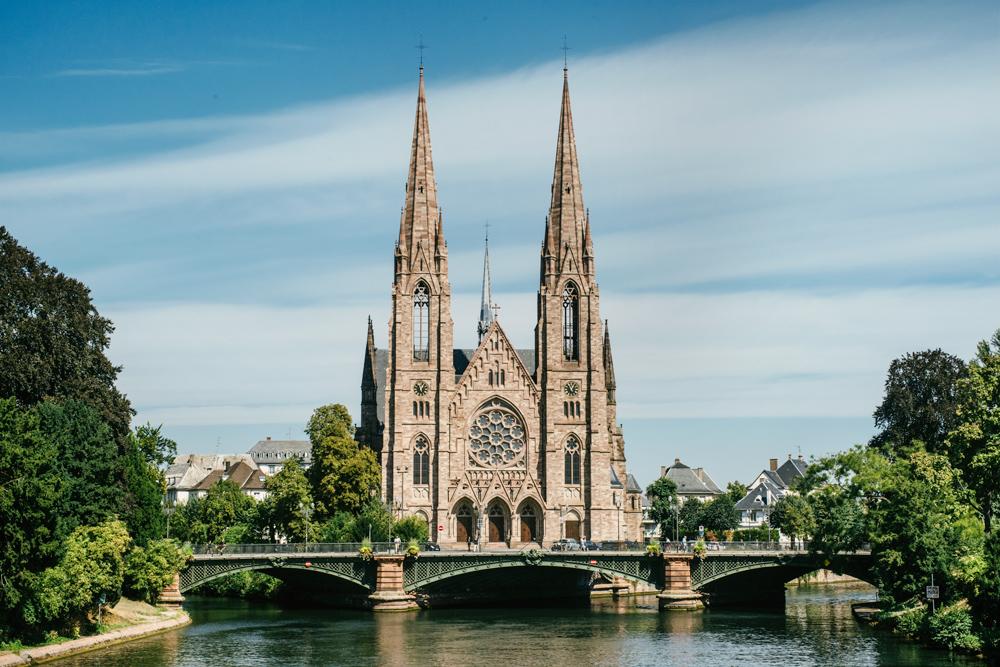 Strasbourg –Quartier impérial, Eglise Saint Paul