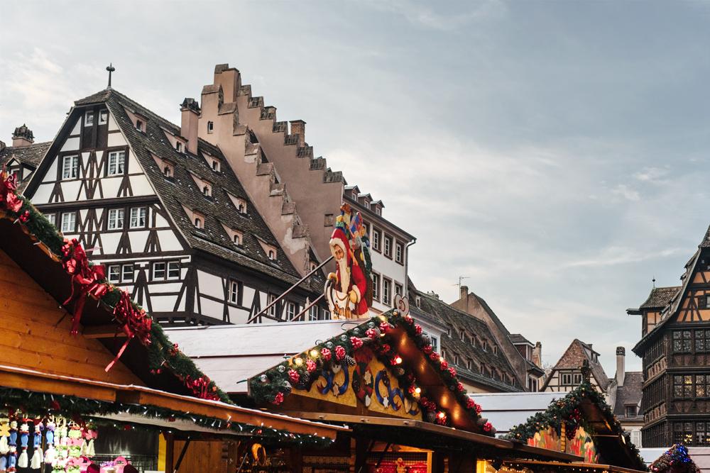 Marché de Noël de Strasbourg –Place de la Cathédrale