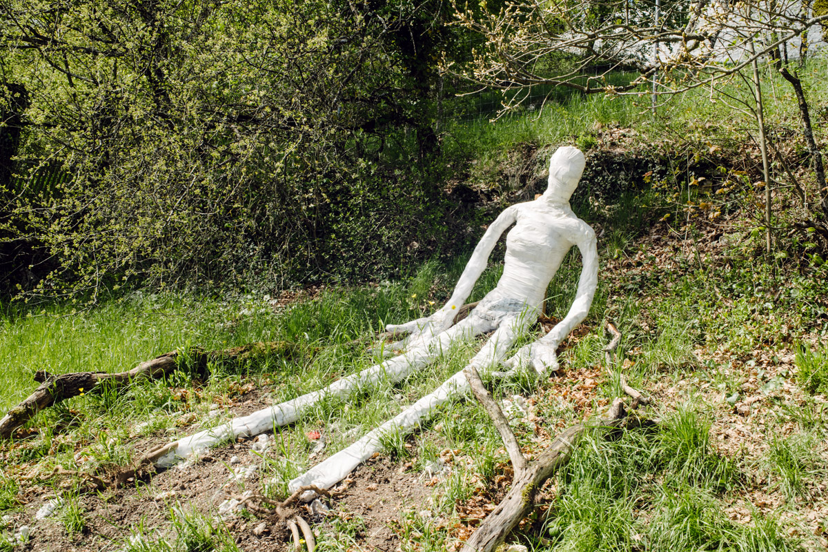 Jardin botanique de Neuchâtel, Land Art 2016 – Accepter la diversité humaine (Ruben Pensa, Marie Philippe, Pilar Nadal Naicas)