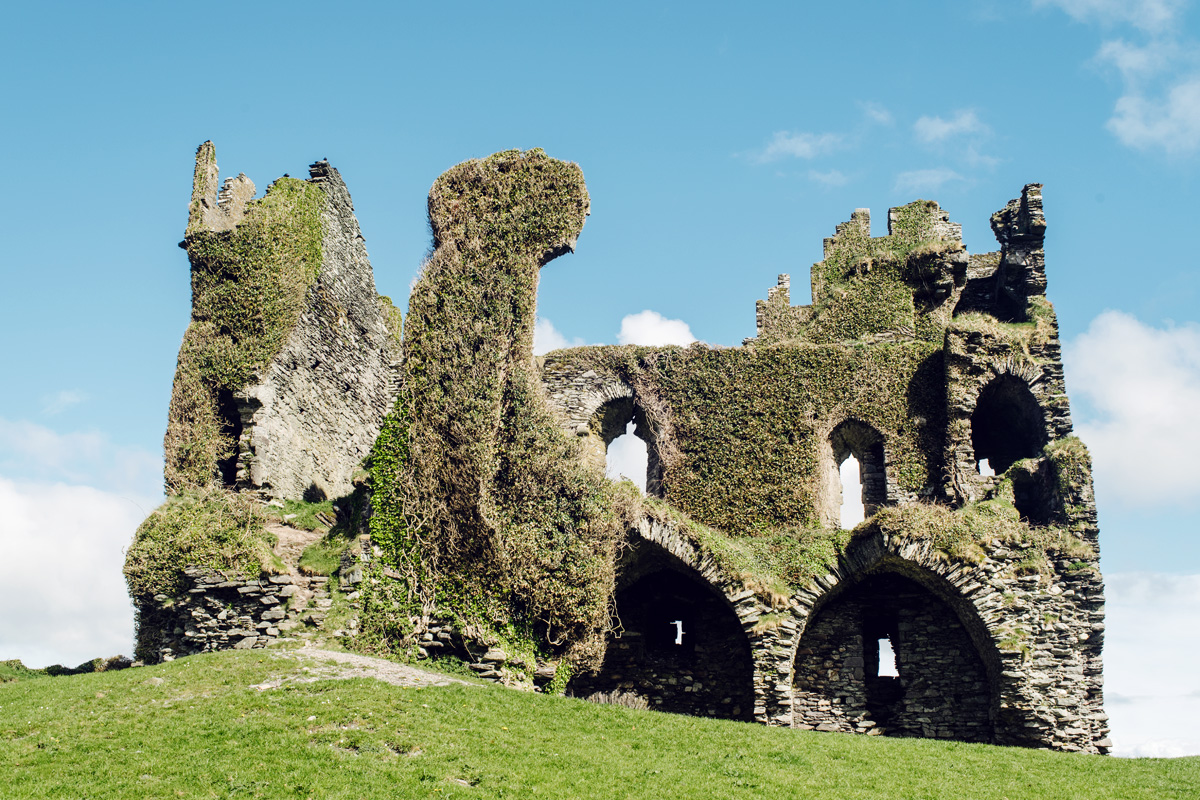 Ballycarbery Castle –Cahersiveen, Ring of Kerry