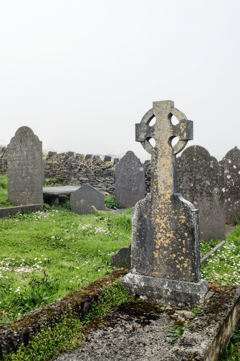Valentia Island, ancien cimetière – Ring of Kerry