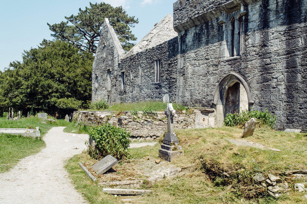 Muckross Abbey, Killarney National Park – Ring of Kerry